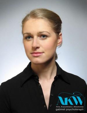 Anna Krzysztofowicz-Wesołowska psycholog, psychoterapeuta